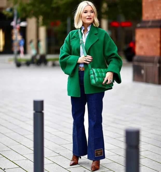 Фото 2 - модный блогер Петра Динерс.