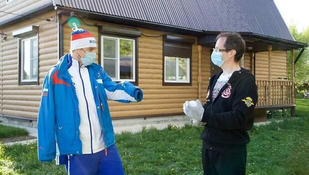 Министр физической культуры и спорта Подмосковья принял участие в акции #МыВместе