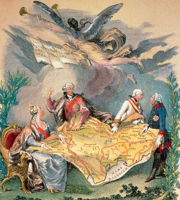 «Россия не взяла ни километра польских земель». Как поделили Речь Посполитую