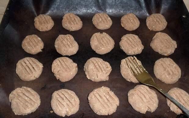 печенье с како-порошком