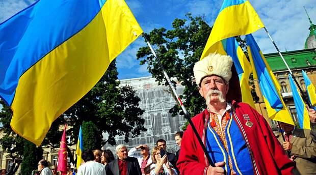 Почему у Украины не славянский, желто-блакитный прапор?