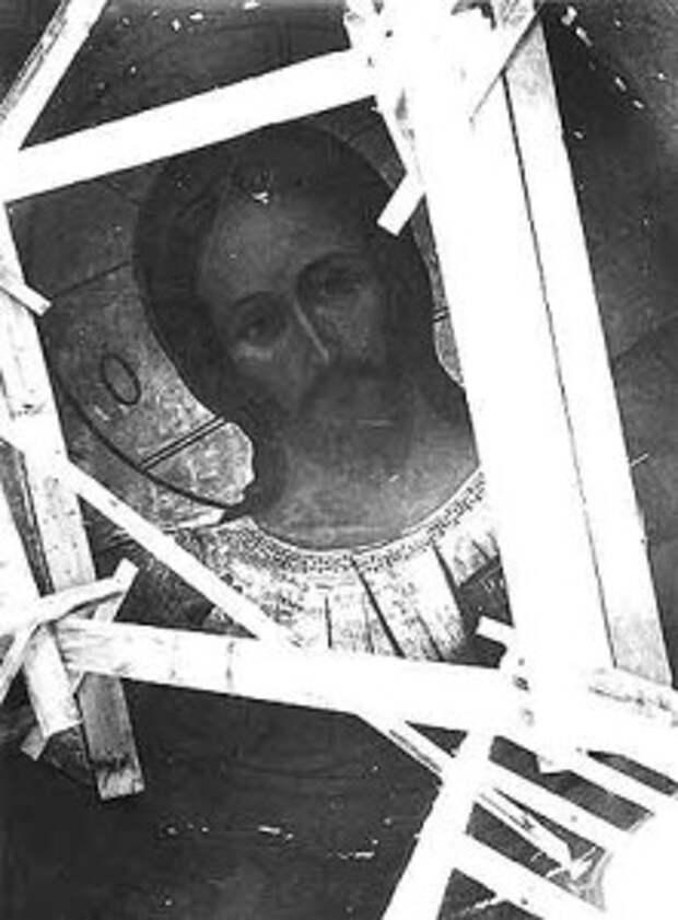 Реставрация купола Троицкого собора. 1946 г.
