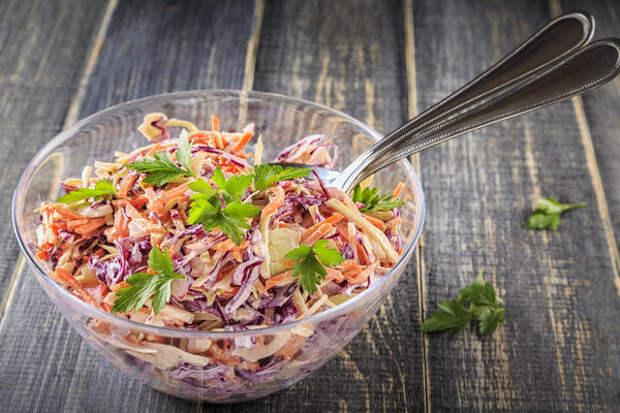 Простой и очень полезный витаминный салат