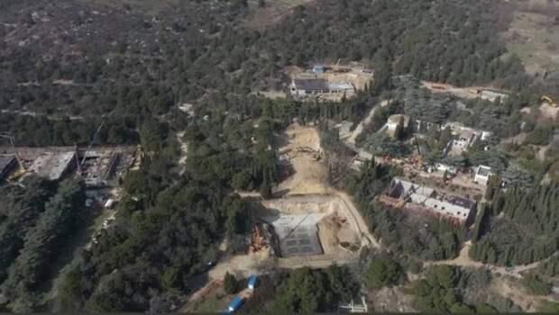 Масштаб застройки Форосского парка сняли с воздуха