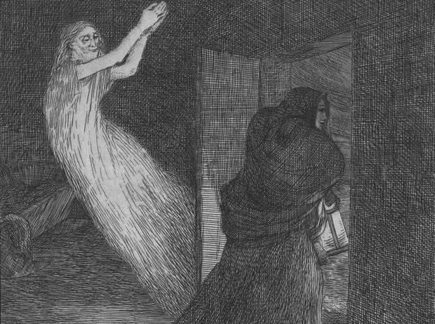 Между мирами: история Флоренс Кук — женщины, говорившей с призраками (6 фото)