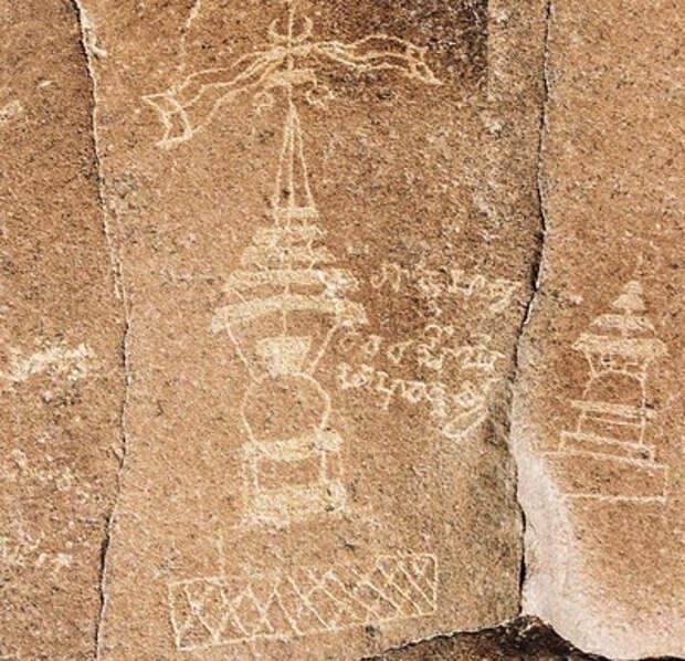 Таинственные петроглифы в Пакистане