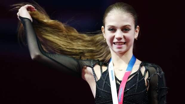 «Королева четверных прыжков». Губерниев выложил фото с Трусовой