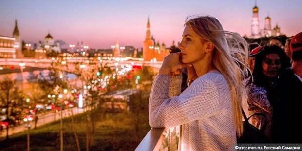 Самый динамично развивающийся мегаполис - Саркози о Москве. Фото: Евгений Самарин, mos.ru