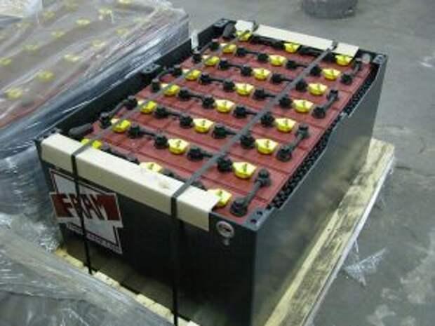 Тяговые аккумуляторы для спецтехники