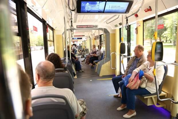 В трамвае на улице Маршала Катукова стало плохо одному из пассажиров