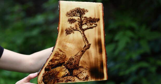 Выжигание по дереву – что это такое, история возникновения, существующие виды, что нужно для выжигания