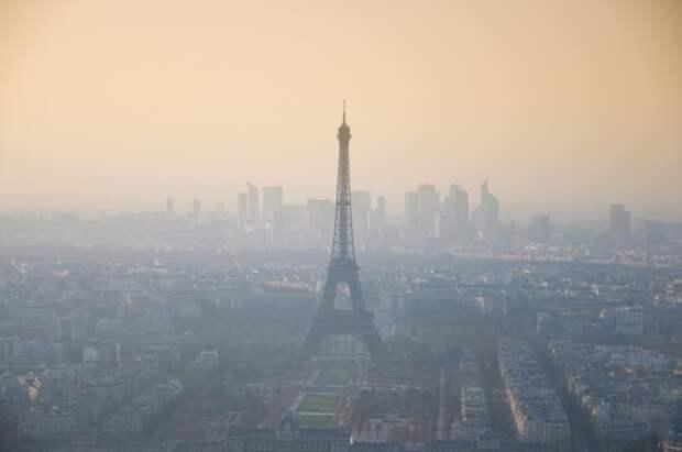 ВоФранции из-за карантина сократилась смертность отзагрязнений воздуха