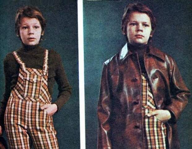 Фото из журналов 70-х годов. Из личного архива Елены Тузовой