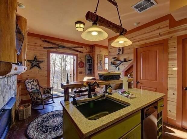 Очаровательный домик площадью всего 78 кв.м горы, дом, сша