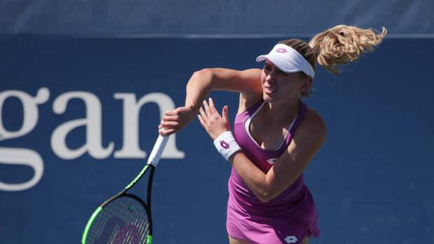 Александрова проиграла Шуай и завершила выступления на US Open