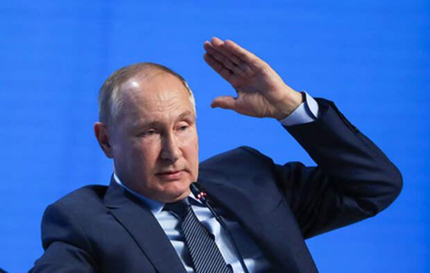 Путин ответил на вопрос о Навальном