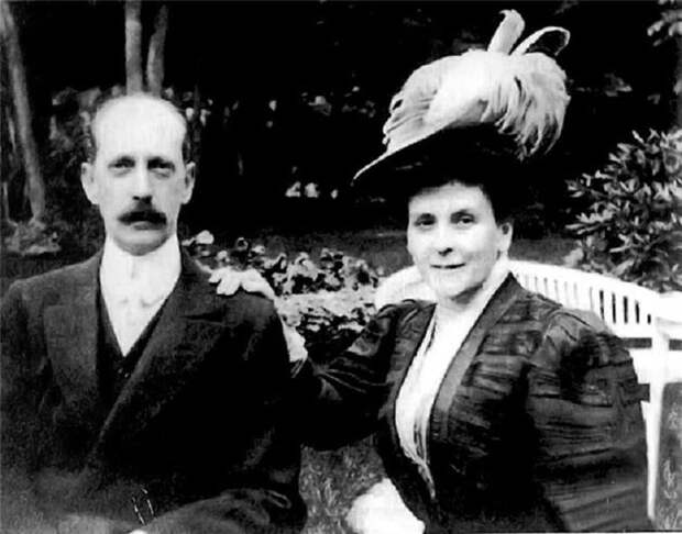Великий князь Павел Александрович со второй женой Ольгой Палей (морганатический, но счастливый брак)