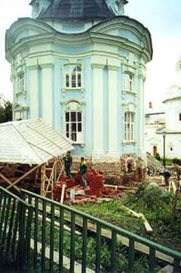 Реставрация Смоленской церкви