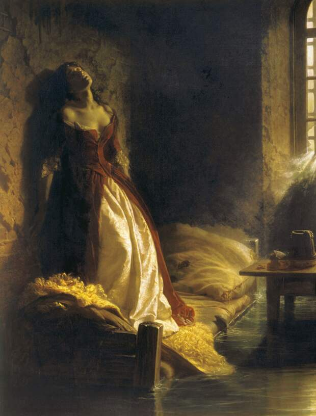 К. Д. Флавицкий. «Княжна Тараканова», 1864, Государственная Третьяковская галерея