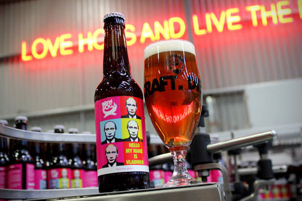В Шотландии выпустили «антигейское» пиво имени Путина