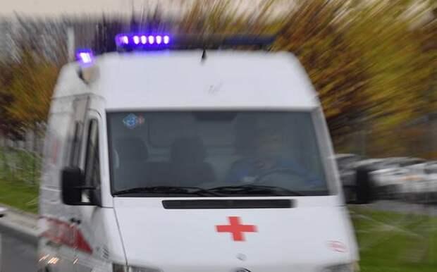 На Кубани скорая помощь столкнулась с локомотивом, есть пострадавшие