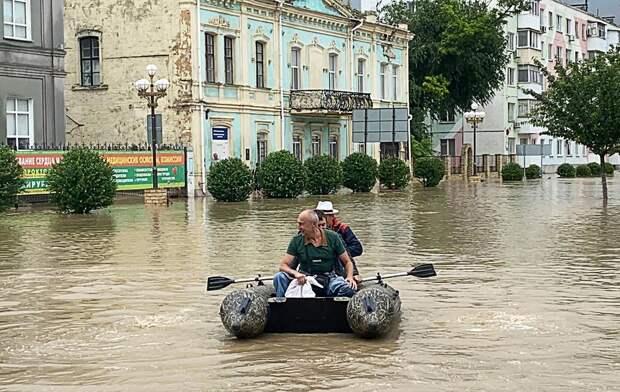 Наводнение в Керчи