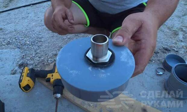 Как сделать бюджетный фильтр-насос для бассейна