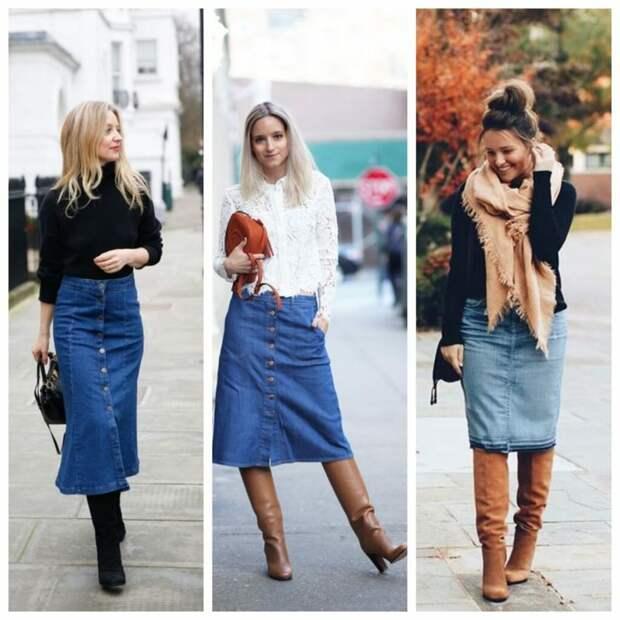 Джинсовые юбки 2020: какую выбрать
