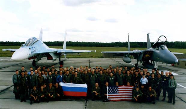 Тайные военные учения США с Россией