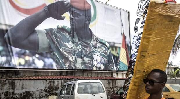 Военная хунта Гвинеи ведет переговоры о переходном правительстве