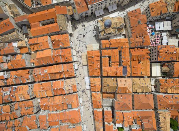 Оранжевые крыши Дубровника