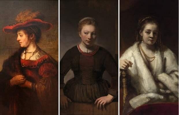 Как повлияли на жизнь великого Рембрандта три женщины : Богиня, любовница и служанка