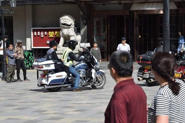 Транспорт Маньчжурии 2018 автомобили, китай, маньчжурия, скутеры
