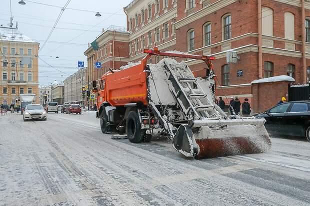 В Петербурге пройдет тренировка перед уборкой улиц в зимнее время