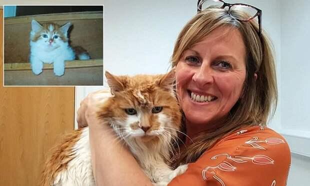 Самая старая кошка в мире отпраздновала 30-летие