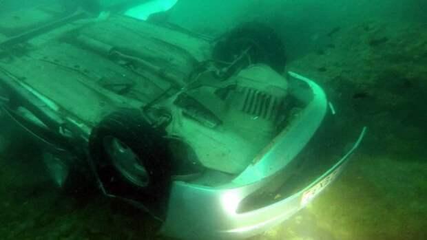 Трагедия на Фиоленте: водитель авто рухнул с обрыва (ФОТО)