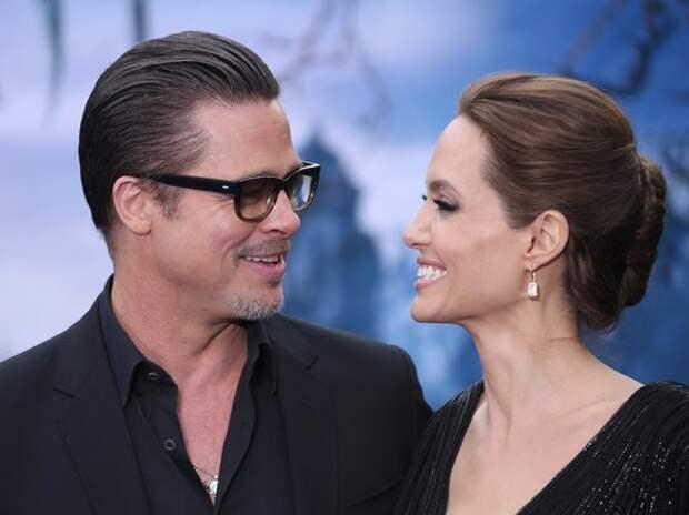 Анджелина Джоли и Брэд Питт помирились