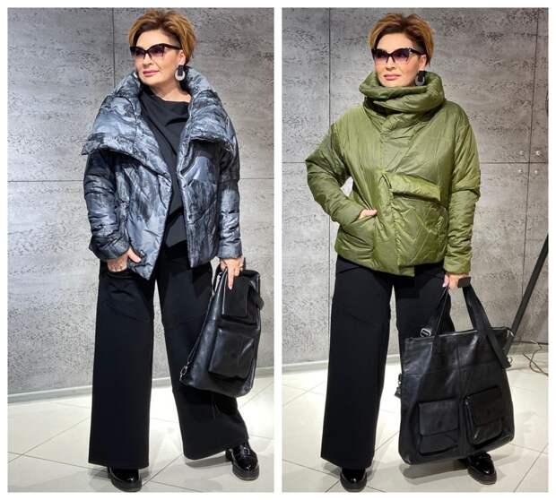 Фото 12, 13 - осенние куртки. Стилист Ирина Конарева.