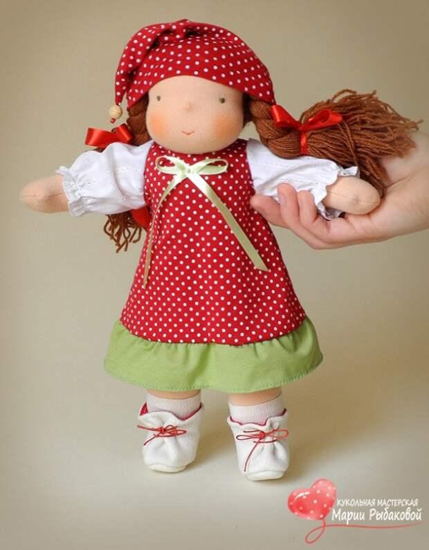 Вальдорфская кукла. Фото / Waldorf doll. Photo