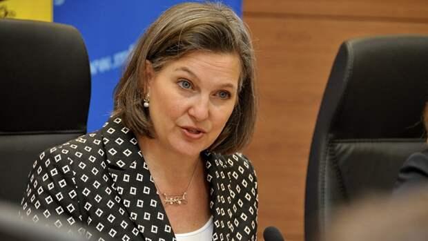 Скабеева прокомментировала слова Нуланд о коррупции на Украине