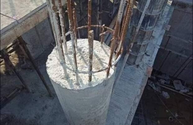 Неудача во время строительства