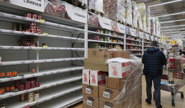 Великобритания столкнулась с дефицитом продуктов питания