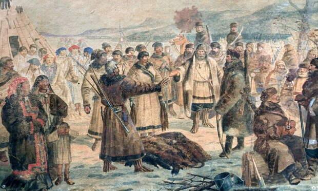 Сбор ясака - Чукотский Давид против имперского Голиафа | Warspot.ru