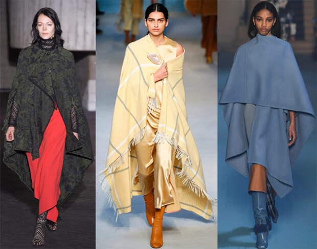 Модные пальто на осень и зиму
