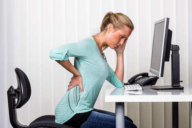 Долгое время сидения может вызвать серьезные проблемы со здоровьем