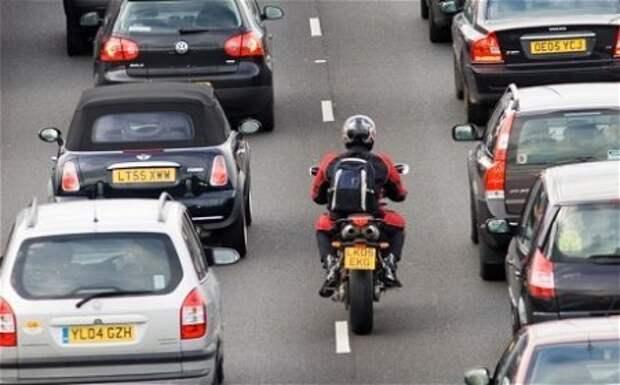 Основная претензия к мотоциклистам (междурядье)