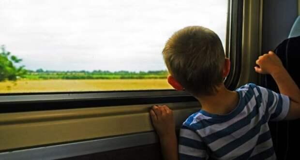 Выбежав за водой, отец исчез, оставив ребенка в поезде одного. Лишь через время сын узнал всю правду