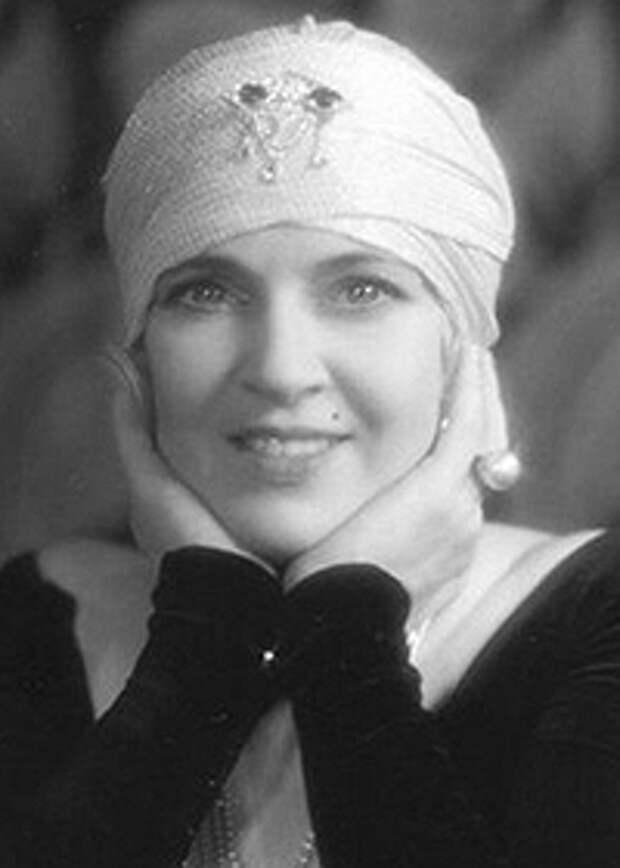 Русские богини эры немого кино: Ольга Бакланова