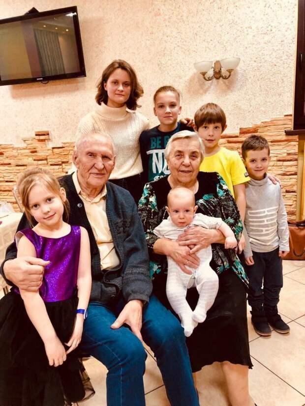 Супруги Балыгины из Южного Медведкова вместе более 65 лет