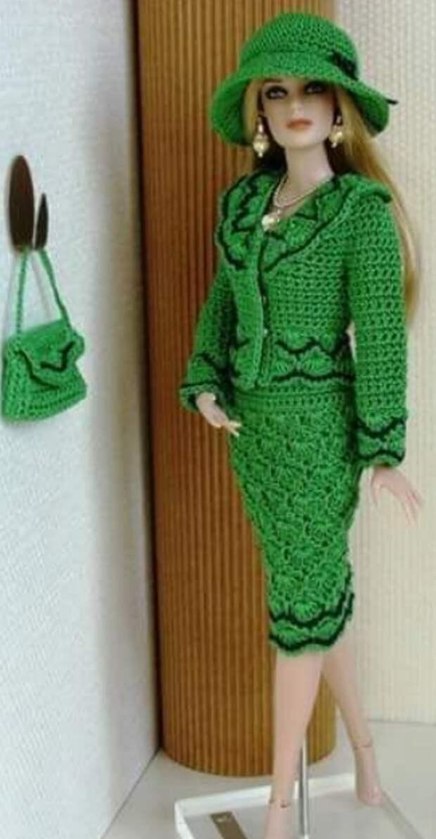 Кукольная мода. Вот уж постарались рукодельницы!